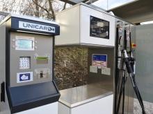 MJ SAT, veřejná čerpací stanice, Písek (platební terminál)