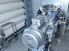 MJ SAT, veřejná čerpací stanice, Písek (centrální kompresor plynu)