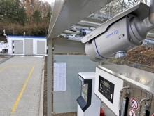 MJ SAT, veřejná čerpací stanice, Písek (součástí stanice je i kamera)