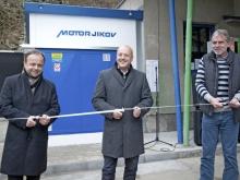 Slavnostní otevření plnicí stanice CNG v Českém Krumlově