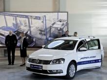 Předávání firemních vozidel VW Passat říjen 2011, České Budějovice