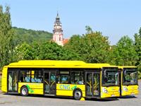 Český Krumlov plánuje nákup nízkoemisních autobusů