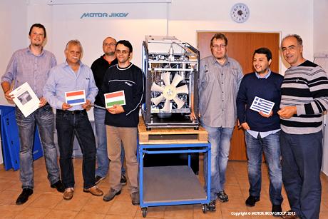 MOTOR JIKOV GROUP expanduje s plnicími stanicemi pro CNG na evropský trh