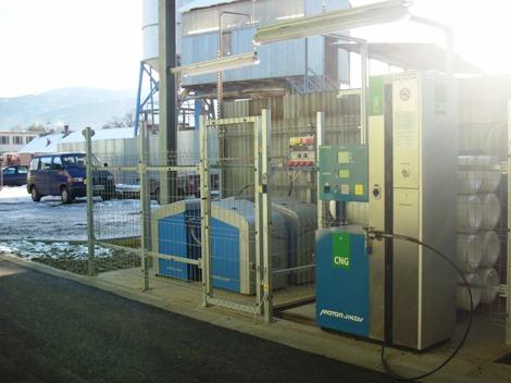 CNG Plnicí stanice TDS ZAMPRA ve Frýdlantu nad Orlicí