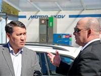 Velvyslanec Kazachstánu si pochvaloval CNG