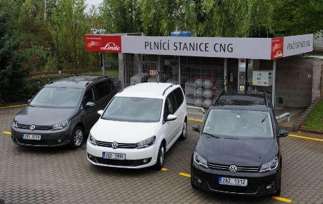 Linde MH pořídilo 11 vozidel VW na CNG