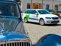 Posádka MOTORU JIKOV bojovala v New Energies Rallye o stupně vítězů