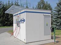 Společnost ESAB Vamberk s.r.o. využívá vlastní vnitropodnikovou plnící stanici CNG