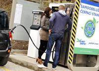 Veřejná stanice na CNG v Písku po roce provozu navyšuje kapacitu