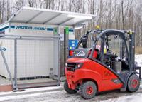 Instalace plnicí stanice MJ Compact Plus v ŽDB Drátovna