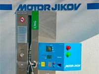 MOTOR JIKOV otevřel novou vnitropodnikovou plničku CNG