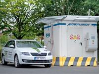 V dolním areálu MOTORu JIKOV vzniká místo pro CNG stanici