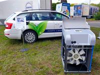 Den plynové mobility zdůraznil myšlenku, že jezdit na zemní plyn se vyplatí