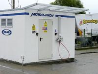 Provoz plnící stanice CNG ve společnosti Romotop již zahájen