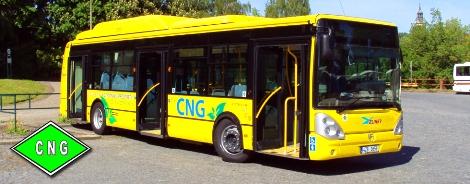 CNG autobus IRISBUS IVECO Citelis pro Písek