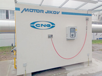 Výrobce stavebních materiálů pořídil již třetí stanici  na CNG
